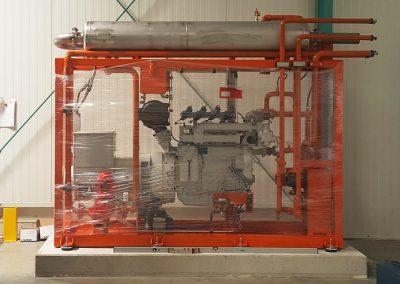 Blockheizkraftwerk-HKH-Einbau